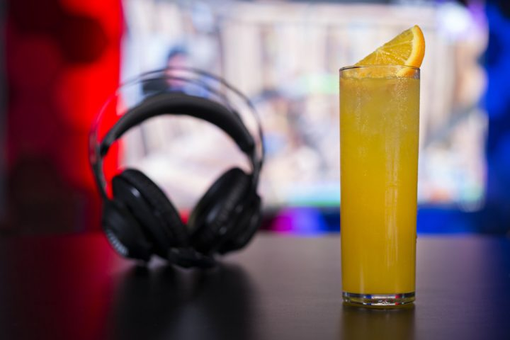 Many drinks at HyperX Esports Arena at Las Vegas' Luxor Hotel & Casino, including the Overkill (pictured), use energy drinks like Red Bull to further appeal to members of the gaming community.