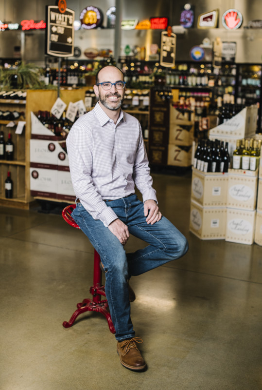 Dinsmore brought on longtime friend and colleague Joe Henry (pictured) as vice president and managing partner of the store. (Photo by Matt Nager)