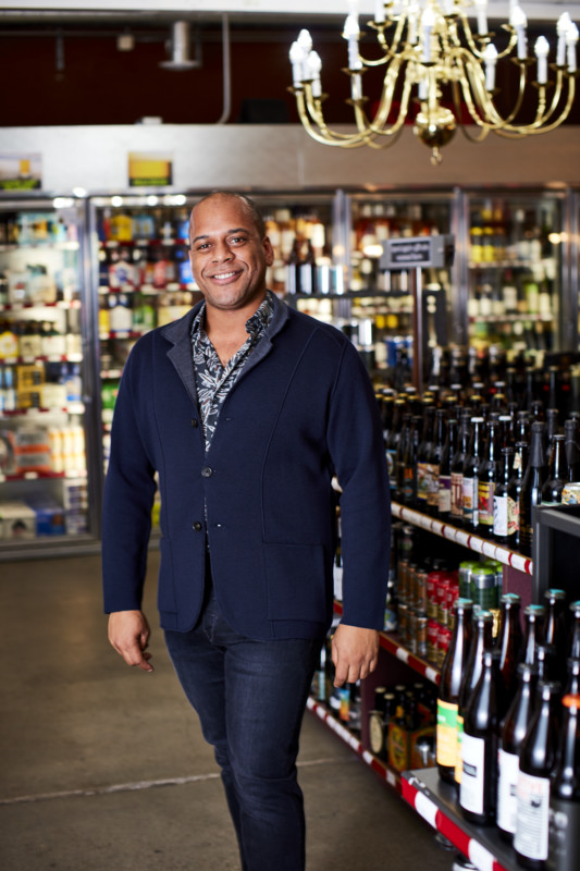 Marques Warren (pictured), owner of Seattle beverage alcohol retailer Downtown Spirits, has grown the company into an unstoppable force. The store's revenue totaled approximately $6.1 million in 2018.
