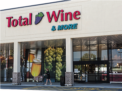 In overhauling its website, creating a mobile app, and improving back-end operations, Total Wine & More (Laurel, Maryland unit pictured) has adapted to today's technology-driven industry and attracted new customers.