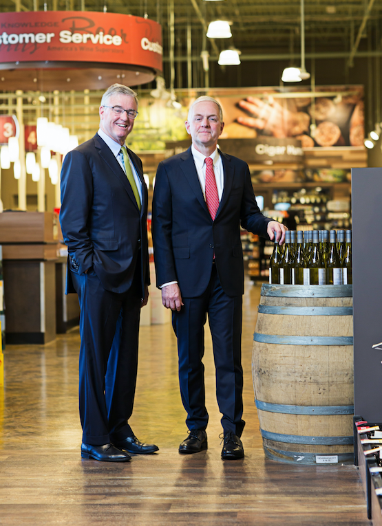 Brothers Robert and David Trone (pictured), co-owners of Total Wine & More, opened their  rst beverage alcohol retail store in 1991. Today, Total Wine boasts over 200 stores in 23 states.