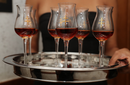 While Hennessy has a stronghold on the U.S. market, other brands are starting to make an impact. D'Ussé (pour pictured) saw nearly 80% gains to become the country's No.-4 brand in 2018.