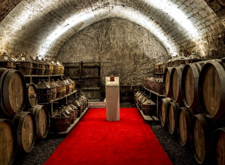 Premium offering Hine (cellars pictured) is focusing on innovation and cocktails to make its mark in the Cognac market, despite consumers' tendency toward brand loyalty.