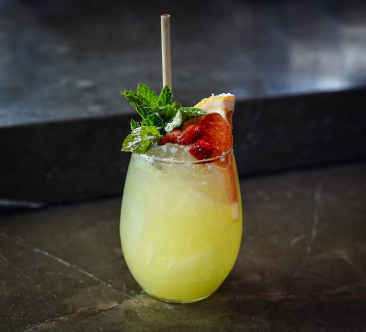 Los Angeles' Inko Nito leaning into the low-abv trend with the Inko Cobbler cocktail (pictured).
