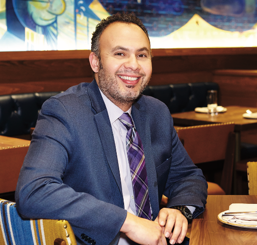 At New York City restaurants Molyvos and Ousia, wine director Kamal Kouiri (pictured) has leaned into his love of all things Greek, curating Greek-focused beverage programs at each concept.