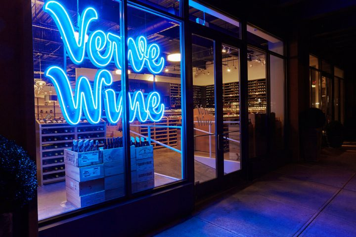 Verve Wine was first launched in New York's Tribeca neighborhood and online in December 2016. The second location in San Francisco's Pacific Heights neighborhood (pictured) opened its doors in July 2018.