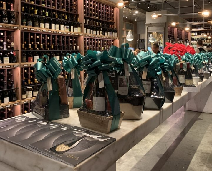 During the holiday season, Wally's Wine & Spirits in California offers high-end, exclusive gift sets (pictured), such as The Dom Perignon Magnum Candleholder, which includes a 1.5-liter of 2008 Dom Perignon Brut designed and autographed by musician and actor Lenny Kravitz.