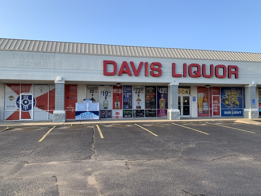 Wichita, Kansas-based Davis Liquor Outlet opened its newest location (pictured) on the west side of the city in August. The 7,200-square-foot space offers 557 wine SKUs, 617 spirits SKUs, and 602 beer SKUs, as well as an array of niche snacks.