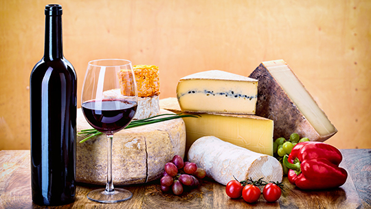 Gary's Wine & Marketplace locations in New Jersey and Napa Valley regularly host wine-and-cheese-pairing seminars, including a recent seminar that included wine and cheese from Northern Italy.