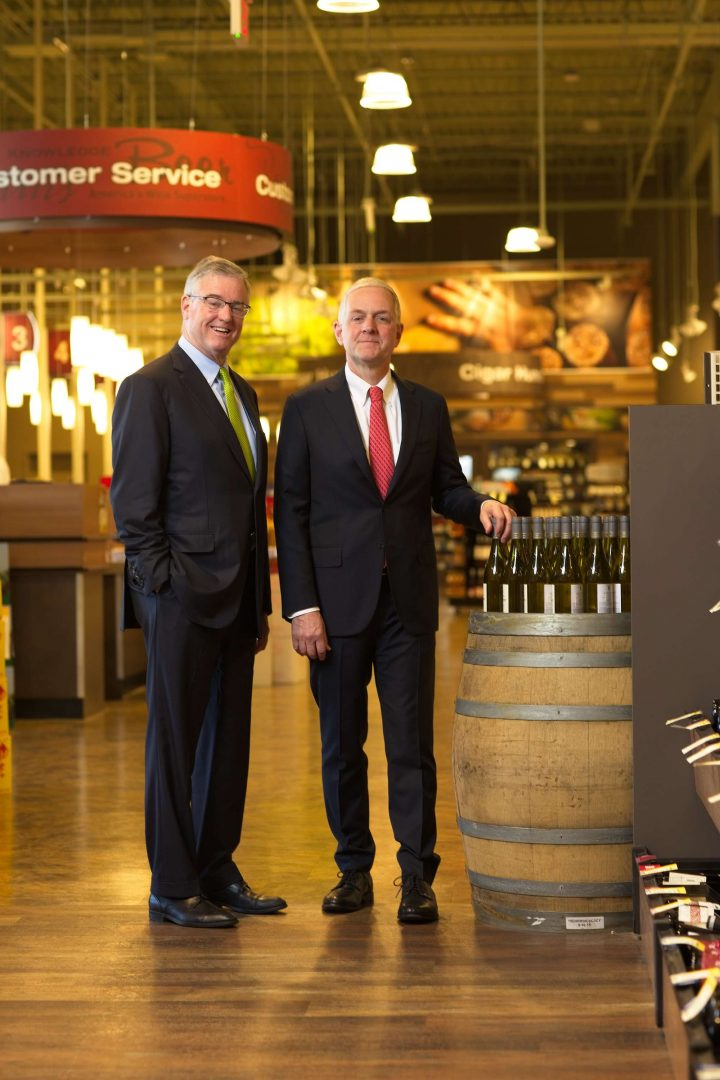 Total Wine & More co-owners David and Robert Trone (pictured) founded Total Wine in 1991, and today the chain has 205 superstores in 24 states.