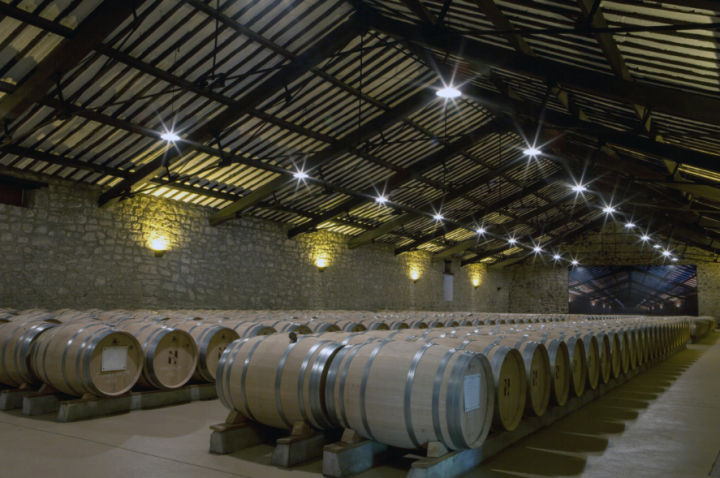 Skurnik's focus remains on its distribution business, which accounts for over 85% of annual revenue. Across its eight-state footprint, Skurnik distributes wines and spirits from nearly 30 countries, such as CVNE from Spain (barrels pictured).