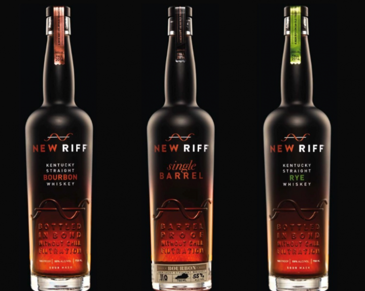 Founded in 2014 by long-time beverage alcohol retailer Ken Lewis, New Riff Distillery's first releases (bottles pictured) came in late 2018. While the brand's bottled-in-bond offerings are the focus, single barrels are also a priority.