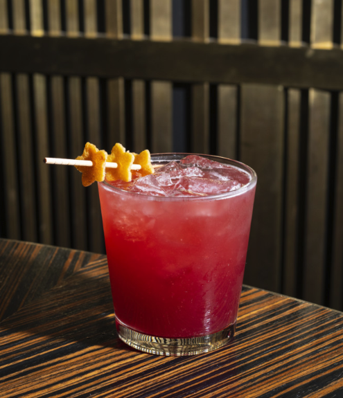 The Yogi Berry cocktail (pictured) is one of the many cocktails offered at Momofuku Group's venues as it expands its beverage side.