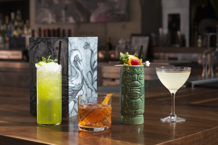 Momofuku Group's Majordōmo venue in Los Angeles offers a 30-page beverage list (cock- tail offerings pictured). A second Majordōmo unit, called Majordōmo Meat & Fish, recently opened in Las Vegas, joining a Momofuku location in The Cosmopolitan.