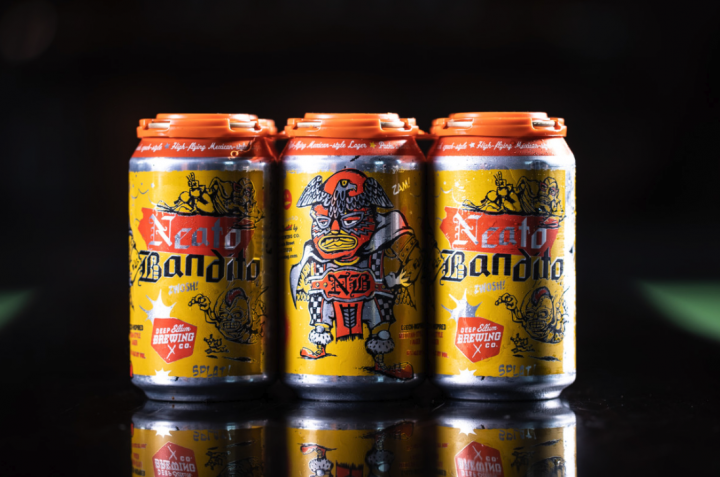 Dallas-based Deep Ellum Brewing Co. is one of many craft brewers producing Mexican-style lagers, with its Neato Bandito Mexican-style imperial lager (pictured).