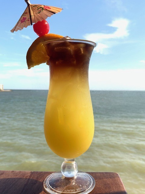 Tropical drinks like the Mai Tai (pictured) are offered at the restaurant group's Whiskey Joe's concept, which evokes an island retreat.