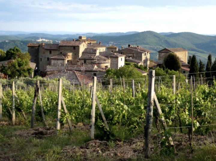 Castello di Volpaia (estate pictured) is one Tuscan estate that has expanded outside of Chianti Classico to the prominent sub-region Maremma.