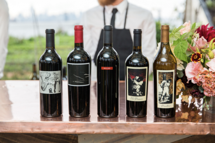 California red blends and Cabernet Sauvignon are still driving growth for the state's wine industry, especially those from super-premium brands like The Prisoner (lineup pictured) from Constellation Brands.
