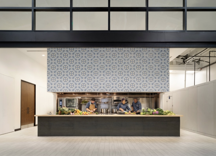 SGWS Wynwood (chef's kitchen pictured) isn't the company's first foray into supporting drinks education for its employees and trade partners; in 2015, the company opened its Academy of Beverages and Fine Service Learning Center in Las Vegas.