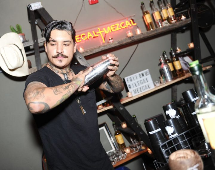 In early 2017, Bacardi took a minority interest in the Ilegal mezcal brand (Bar Ilegal pop-up pictured).