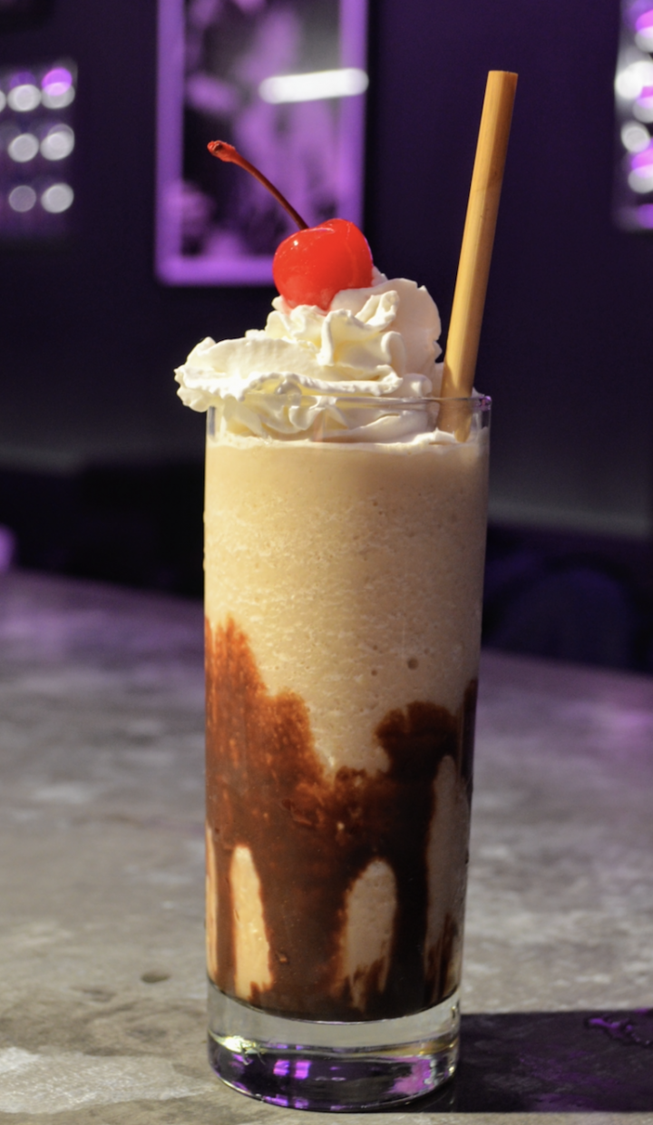 JJ's Hideaway in Brooklyn, New York has frozen cocktail machines that serve up '90s standbys like the Frozen Mudslide (pictured).