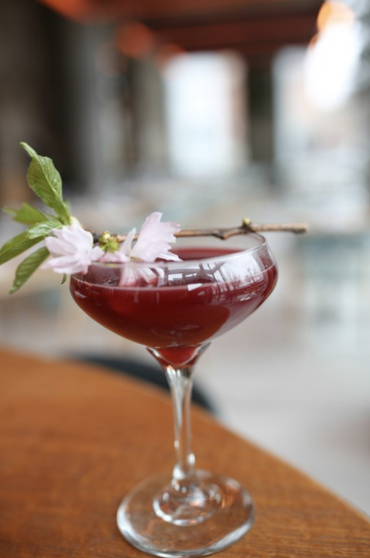 Flavored whiskies are popular on-premise, as bars and restaurants such as Halifax in Hoboken, New Jersey use them in cocktails such as A Geisha's Smile (pictured).