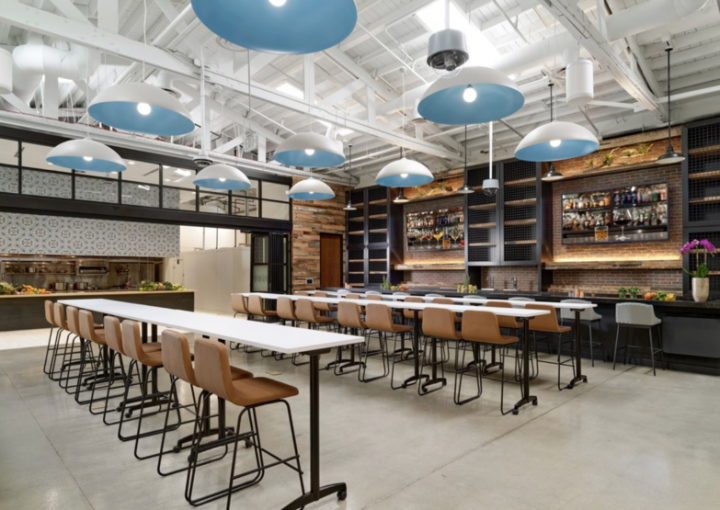 Southern Glazer's Wine & Spirits has opened a new multi-purpose venue in the Miami neighborhood of Wynwood. Among the many features of the modern-industrial facility are a mixology lounge (pictured), demonstration kitchen, and tasting rooms.