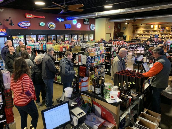 The No.-3 control state by volume, Ohio's Division of Liquor Control has leaned in to its single-barrel program, releasing 23 private barrels in 2019 (Ale Wine & Spirits private barrel launch pictured). So far this year, Covid-19 has had a huge impact on Ohio liquor stores, with sales rising over 50% year-on-year from March 1 to March 22.