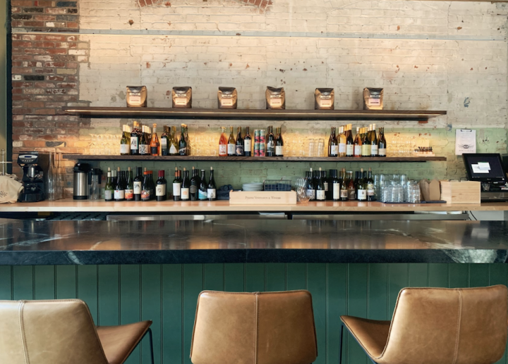 At Bar Avalon in Los Angeles (interior pictured), general manager and sommelier Nathaniel Muñoz had to let his staff go, leaving just himself and a chef to run takeout and delivery. But drinks are still on offer via Caviar and Postmates.