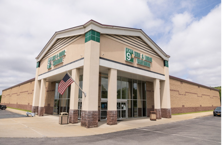 March saw a major spike in off-premise sales. Exit 9 Wine & Liquor Warehouse (pictured) in New York said weekly numbers were 400% higher than normal.