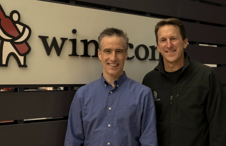 The e-commerce channel saw incredible gains as the Covid-19 pandemic gained traction. At Wine.com (founder and executive vice president Michael Osborn and CEO Rich Bergsund pictured), demand more than doubled in March and tripled in early April as new consumers turned to online beverage alcohol platforms.
