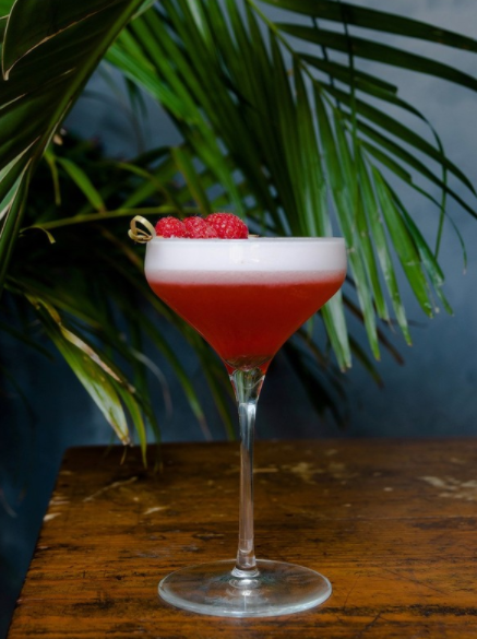 At Casa Del Toro in New York City, the Matador's Wife (pictured) blends Código 1530 Rosa Tequila with lemon juice, simple syrup, fresh raspberries, and egg whites.