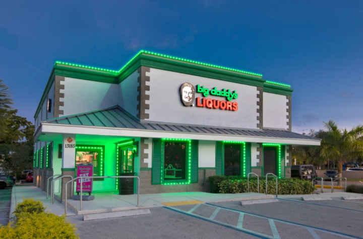 Hard seltzer growth has largely been driven by White Claw and Truly at retail locations such as Florida-based Big Daddy's Wine & Liquor (North Miami unit pictured).