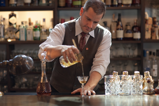 At Canon in Seattle, hospitality veteran Jamie Boudreau aims to welcome all patrons with his creative cocktails.