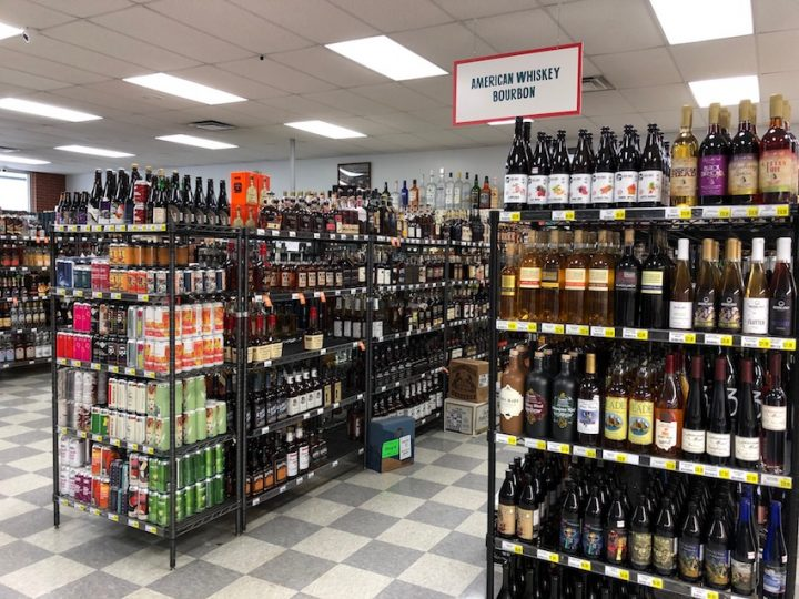 Beverage alcohol retailers such as Weiland's (pictured) in Columbus, Ohio are seeing double-digit year-over-year gains due to the Covid-19 pandemic.
