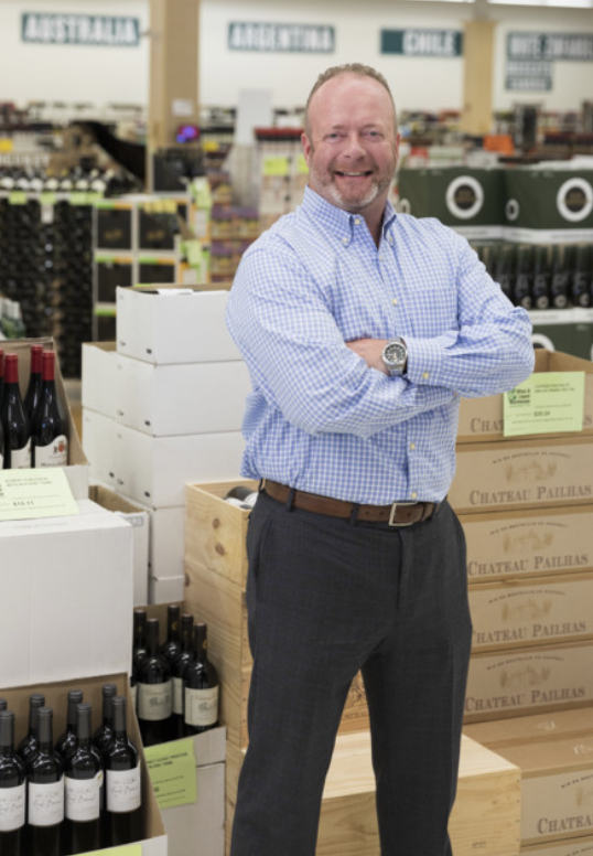 Exit 9 Wine & Liquor Warehouse owner Mark O'Callaghan (pictured) says that RTDs have been