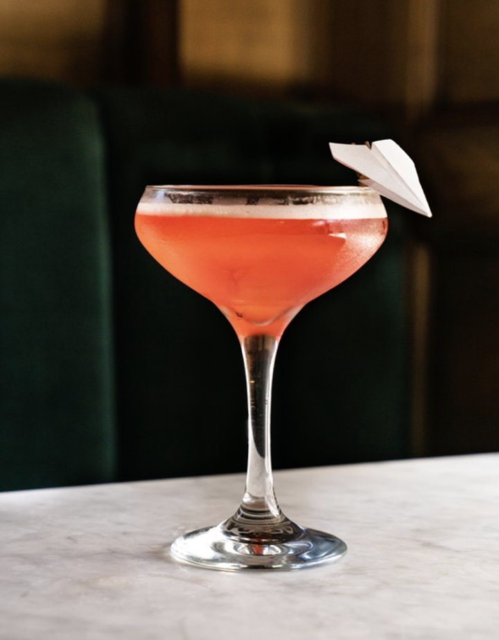 U.S. consumers are rediscovering Italian amaro. The Paper Plane (pictured) at Fort Lauderdale, Florida's The Wilder is a modern classic that mixes equal parts Nonino amaro, Aperol, Breaker Bourbon, and lemon juice.