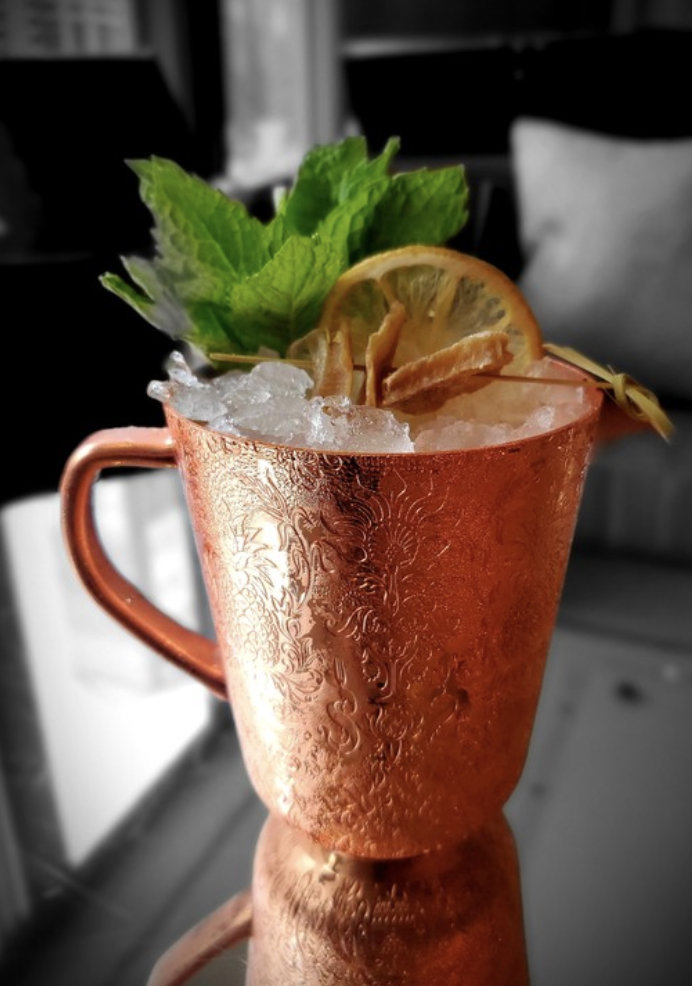 At The Langham hotel's Travelle bar in Chicago, the classic Moscow Mule (pictured) puts vodka in a supporting role to the bold flavors of house-made ginger beer.