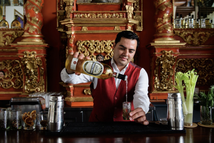As more Americans embrace Tequila, more brands are in turn looking to the luxury end. Premium-priced Tequila mainstay Jose Cuervo (Hotel Solar de Animas bar pictured), for example, debuted the first-ever añejo within its 100% blue agave Tradicional lineup in April.
