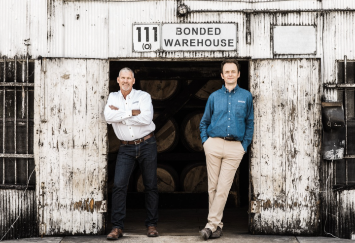 Heaven Hill Brands (distillers Jodie Filiatreau and Conor O'Driscoll pictured) is seeing major success across its portfolio for flavored whiskies, as well as for bottled-in-bond offerings from its Heaven Hill, Old Fitzgerald, and Henry McKenna labels.