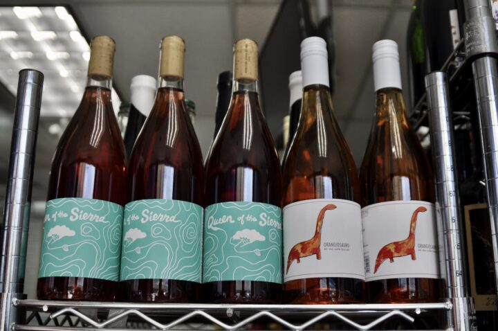 Natural wines (Mendez Fuel shelf pictured) are especially popular with younger and health- and wellness-minded consumers.