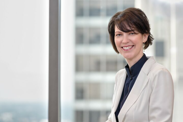 Debra Crew (pictured) became president of Diageo North America this summer following Deirdre Mahlan's retirement.