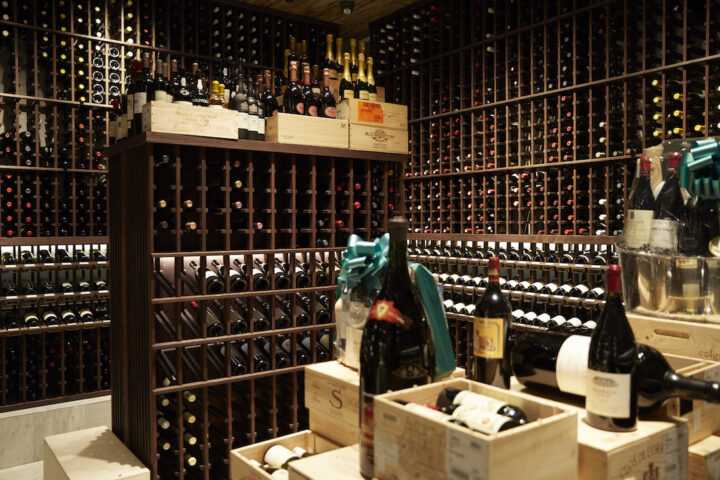 Annual revenue for Wally's is more than $60 million, led overwhelmingly by wine (Beverly Hills wine room pictured).