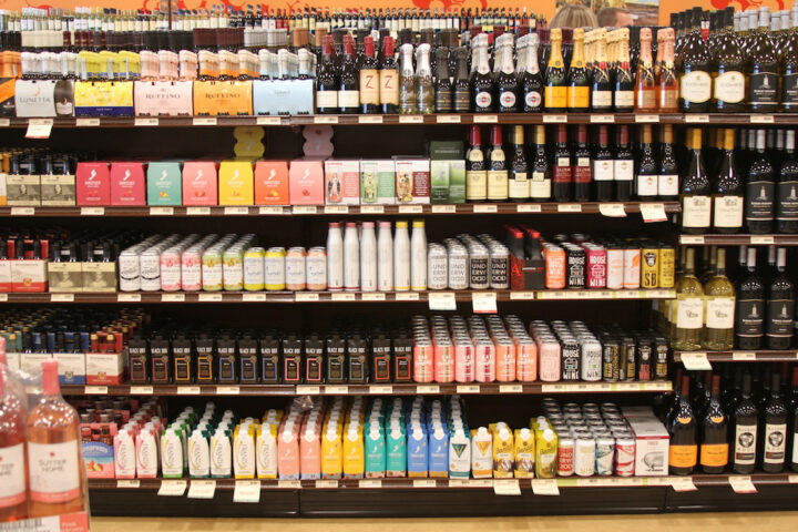 Across its retail and distribution networks, the PLCB carries over 18,000 wine SKUS (alternative packages pictured).