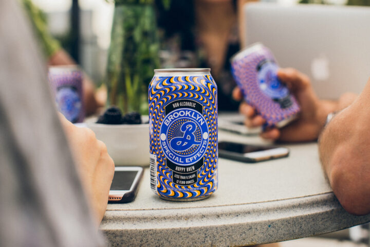 Health- and wellness-minded consumers are behind the impressive growth of non-alcoholic brews like Brooklyn Brewery's Special Effects (pictured) in the U.S.