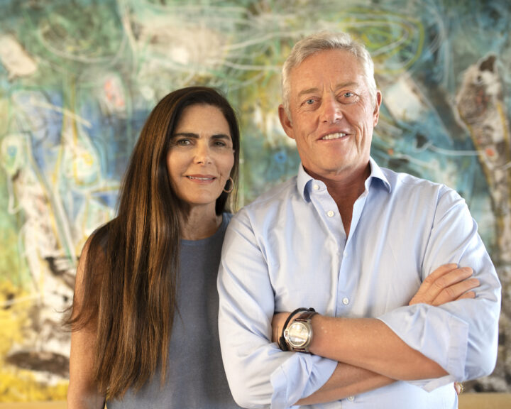 Luxury Chilean winery Vik (founders Carrie and Alexander Vik pictured) is among Guarachi Wine Partner's newest additions.