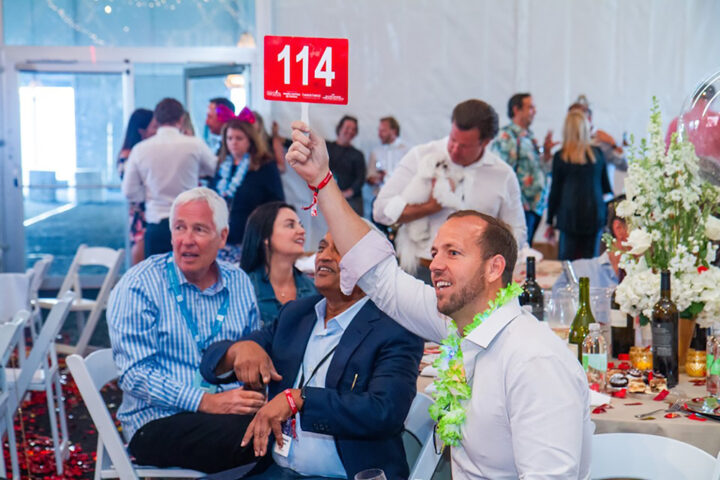 Beyond the Destin Charity Wine Auction (2019 event pictured), Wine World has founded other events, including the Destin Craft Beer, Bourbon, and Food Festival, to increase its opportunities to give back to local organizations.