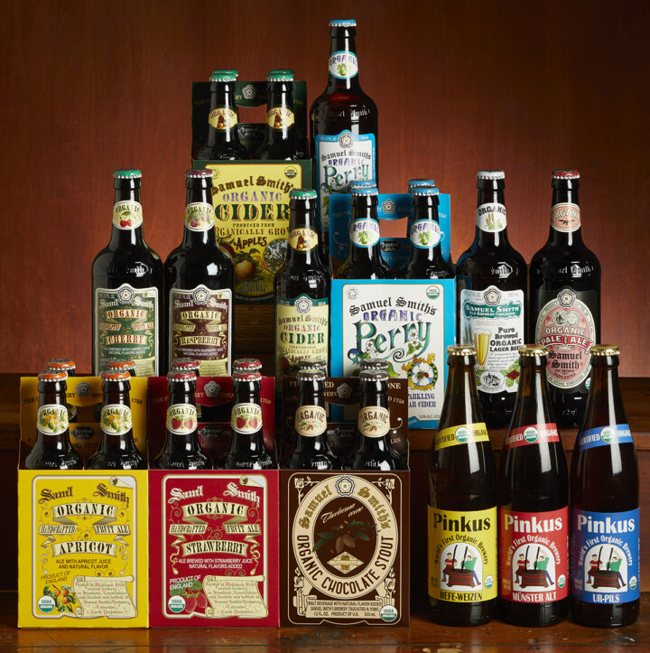 Domestic organic beers are just starting to find their place in the market, but Merchant du Vin Corp. has been importing the Pinkus and Samuel Smith lineups (pictured) since the 1980s and '90s.