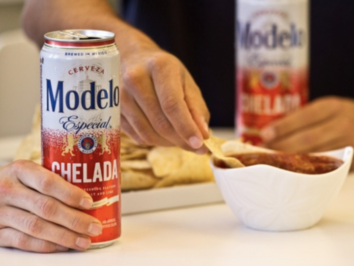 Model Especial has become the top-selling imported beer in the U.S. Its sibling, Modelo Especial Chelada (Cans pictured), was named to the Hot Brands list for the first time in 2019 as volume surged 32%.