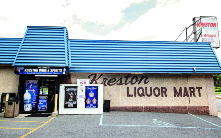 Bob Kreston, owner of Delaware-based Kreston Wine & Spirits (exterior pictured), says that current retail trends can't be based on historical data.